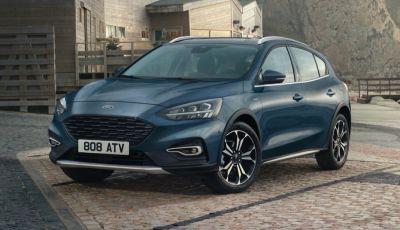 Ford Focus Active V 2020: più elegante con l'allestimento Vignale