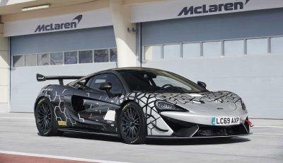 McLaren 620R, versione stradale della 570S GT4 da corsa