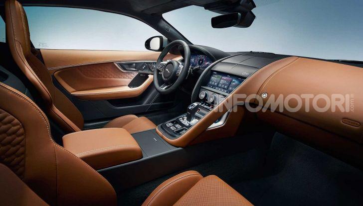 Jaguar F-Type 2020: più affilata, moderna e potente - Foto 14 di 16