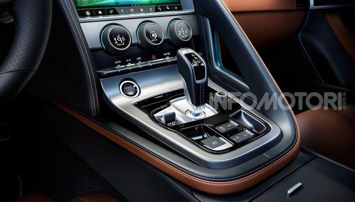 Jaguar F-Type 2020: più affilata, moderna e potente - Foto 15 di 16