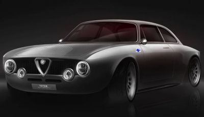 Nuova Alfa Romeo Giulia GTV: l'elettrica da 510 CV