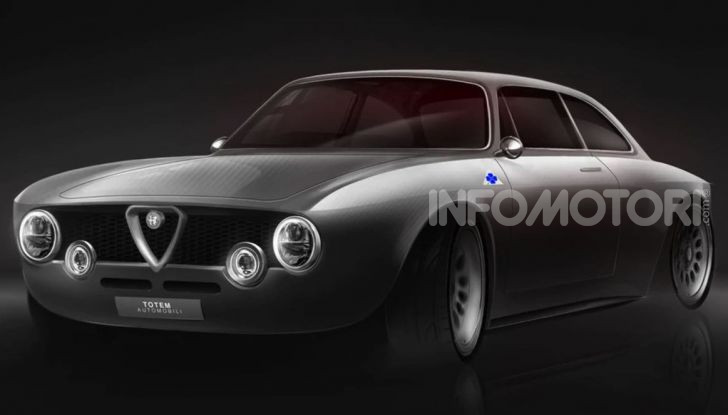 Nuova Alfa Romeo Giulia GTV: l'elettrica da 510 CV - Foto 1 di 10