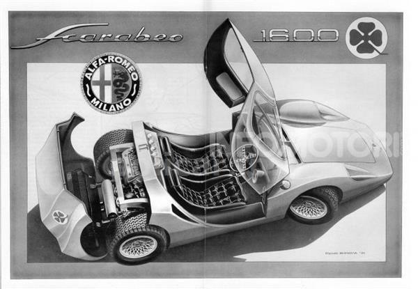L'Alfa Romeo Scarabeo in mostra al Château de Compiègne - Foto 6 di 6