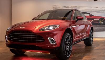 Aston Martin DBX, debutta il SUV di lusso inglese