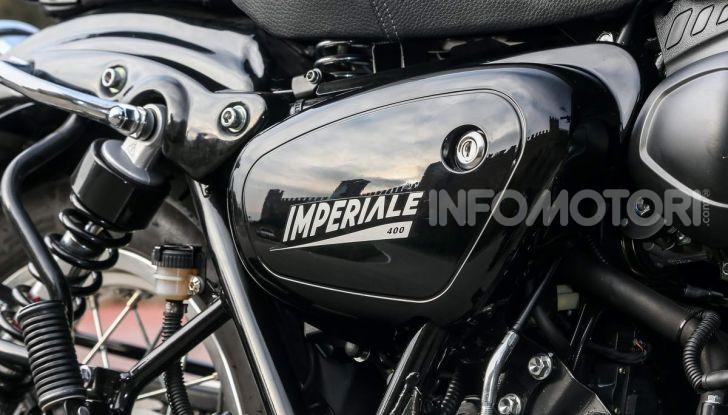 Prova in anteprima Benelli Imperiale 400, caratteristiche e prezzo - Foto 47 di 66