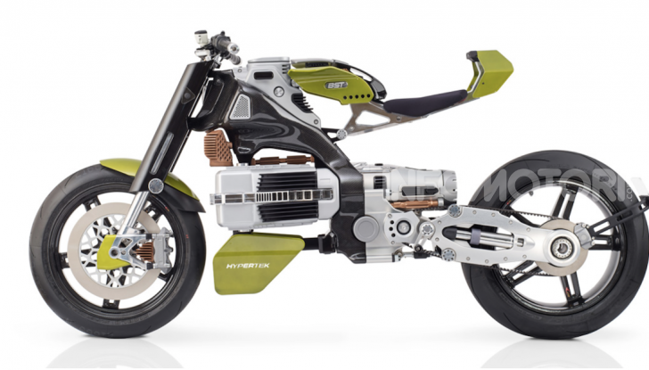 Bst HyperTek: Terblanche firma una nuovo moto elettrica - Foto 8 di 9