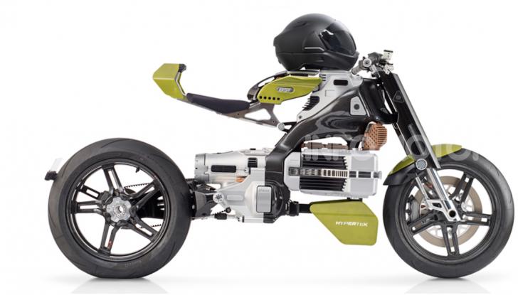 Bst HyperTek: Terblanche firma una nuovo moto elettrica - Foto 2 di 9