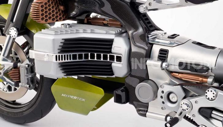 Bst HyperTek: Terblanche firma una nuovo moto elettrica - Foto 4 di 9