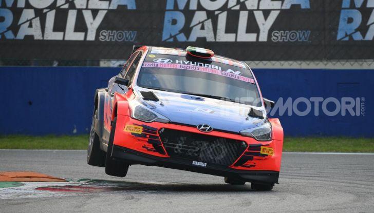 Monza Rally Show 2019: Crugnola vince a mani basse, ma si sente la mancanza di Rossi - Foto 1 di 56