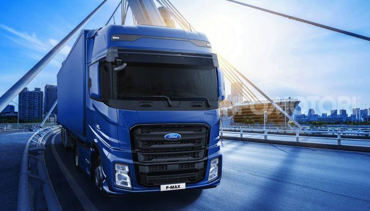 Ford Trucks Italia: tornano i mezzi pesanti dell'Ovale Blu con Ford F-Max - Foto 2 di 4