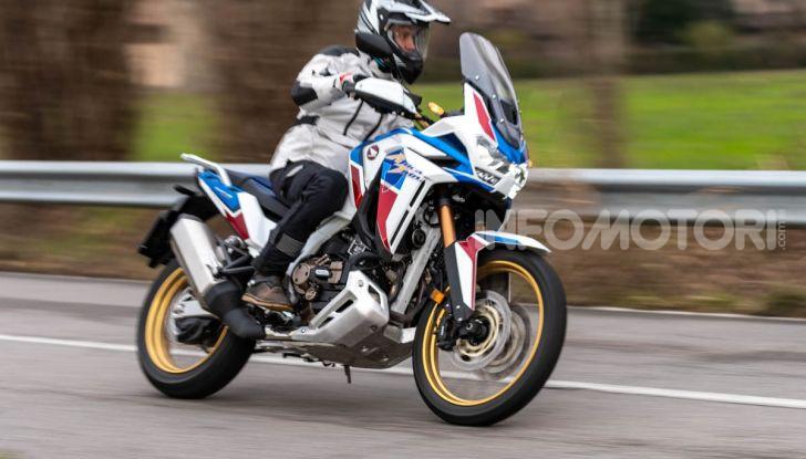 Prova Honda Africa Twin 1100 DCT Adventure Sports 2020: caratteristiche e prezzo - Foto 6 di 63