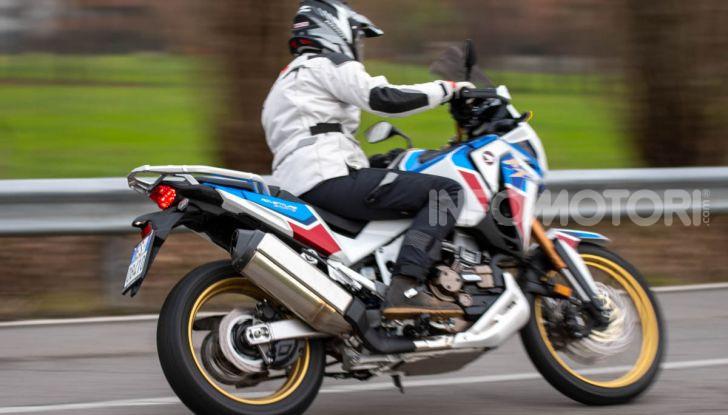 Prova Honda Africa Twin 1100 DCT Adventure Sports 2020: caratteristiche e prezzo - Foto 7 di 63