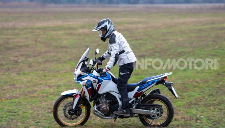 Prova Honda Africa Twin 1100 DCT Adventure Sports 2020: caratteristiche e prezzo - Foto 12 di 63