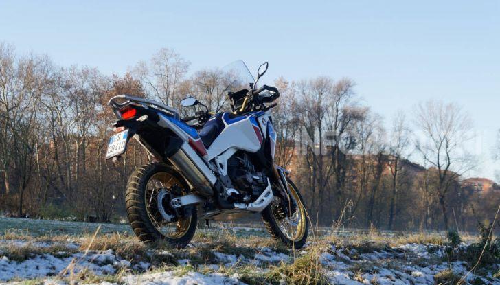 Prova Honda Africa Twin 1100 DCT Adventure Sports 2020: caratteristiche e prezzo - Foto 22 di 63