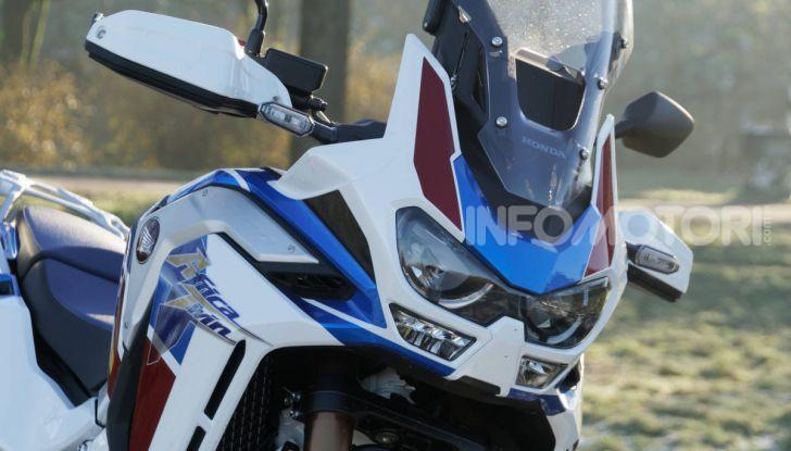 Prova Honda Africa Twin 1100 DCT Adventure Sports 2020: caratteristiche e prezzo - Foto 25 di 63