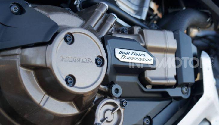 Prova Honda Africa Twin 1100 DCT Adventure Sports 2020: caratteristiche e prezzo - Foto 28 di 63