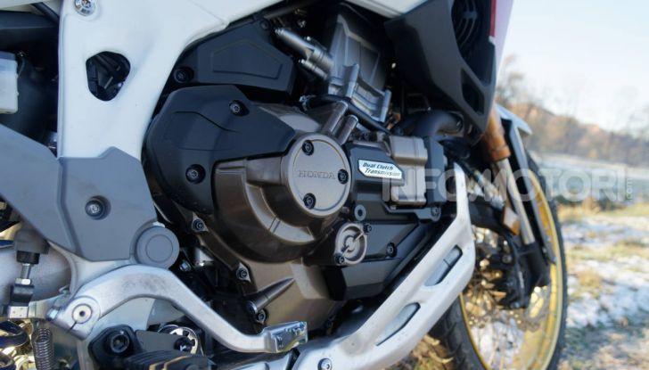 Prova Honda Africa Twin 1100 DCT Adventure Sports 2020: caratteristiche e prezzo - Foto 29 di 63