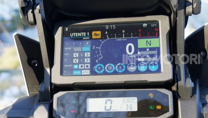 Prova Honda Africa Twin 1100 DCT Adventure Sports 2020: caratteristiche e prezzo - Foto 35 di 63