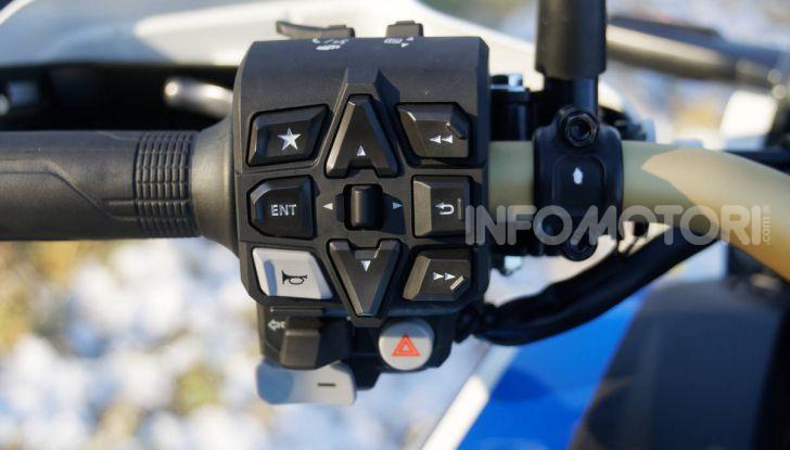 Prova Honda Africa Twin 1100 DCT Adventure Sports 2020: caratteristiche e prezzo - Foto 37 di 63