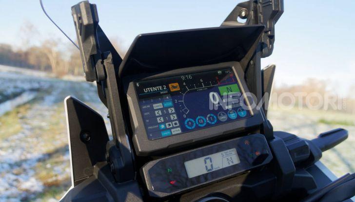 Prova Honda Africa Twin 1100 DCT Adventure Sports 2020: caratteristiche e prezzo - Foto 39 di 63