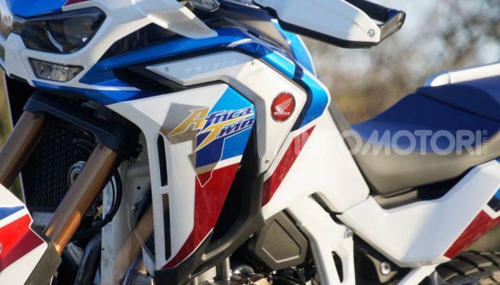 Prova Honda Africa Twin 1100 DCT Adventure Sports 2020: caratteristiche e prezzo - Foto 43 di 63