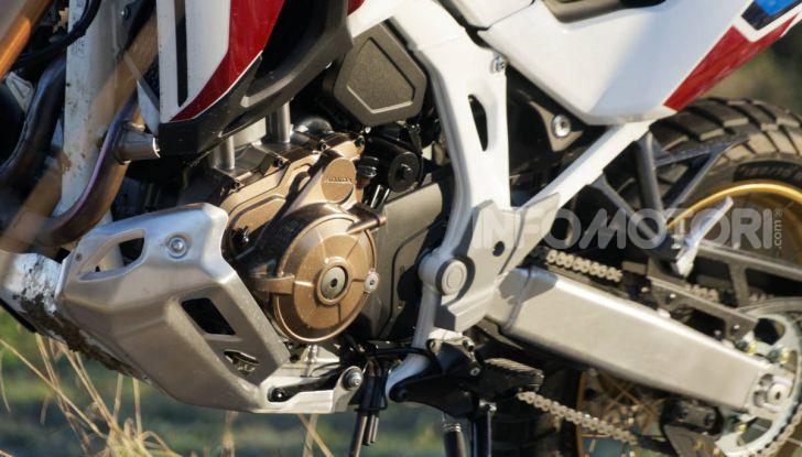Prova Honda Africa Twin 1100 DCT Adventure Sports 2020: caratteristiche e prezzo - Foto 44 di 63