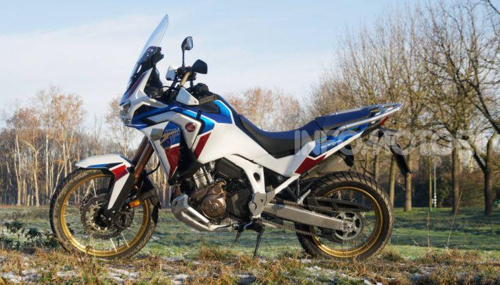 Prova Honda Africa Twin 1100 DCT Adventure Sports 2020: caratteristiche e prezzo - Foto 47 di 63