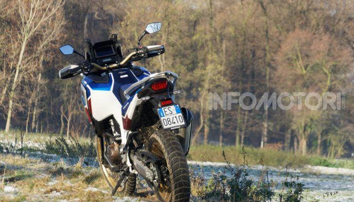 Prova Honda Africa Twin 1100 DCT Adventure Sports 2020: caratteristiche e prezzo - Foto 54 di 63
