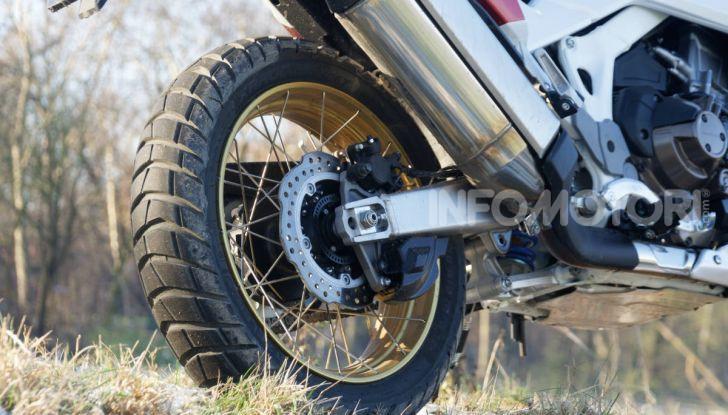 Prova Honda Africa Twin 1100 DCT Adventure Sports 2020: caratteristiche e prezzo - Foto 56 di 63