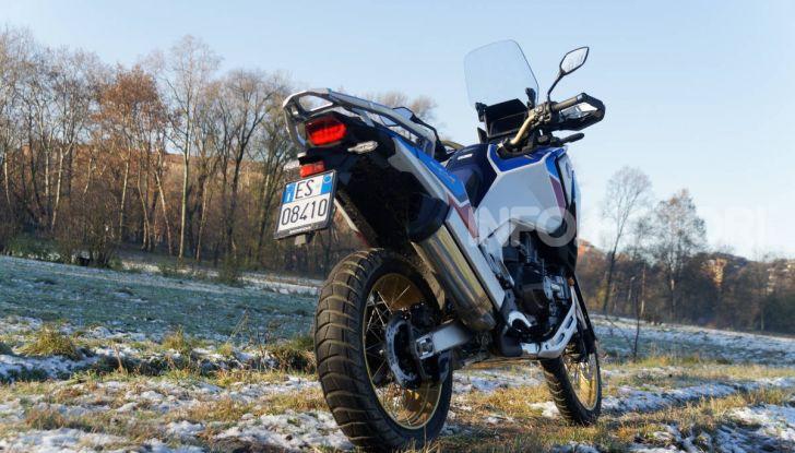 Prova Honda Africa Twin 1100 DCT Adventure Sports 2020: caratteristiche e prezzo - Foto 57 di 63