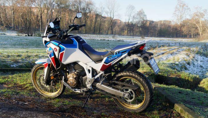 Prova Honda Africa Twin 1100 DCT Adventure Sports 2020: caratteristiche e prezzo - Foto 59 di 63