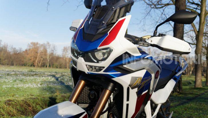 Prova Honda Africa Twin 1100 DCT Adventure Sports 2020: caratteristiche e prezzo - Foto 63 di 63