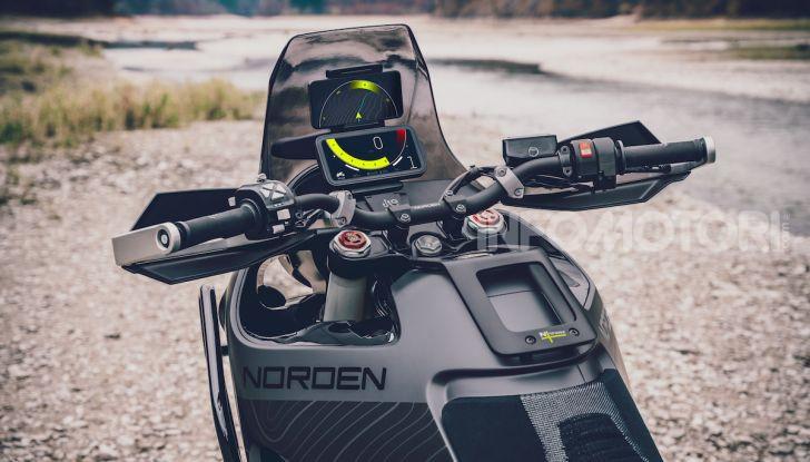 Husqvarna Concept Norden 901, la prima enduro travel svedese - Foto 3 di 7