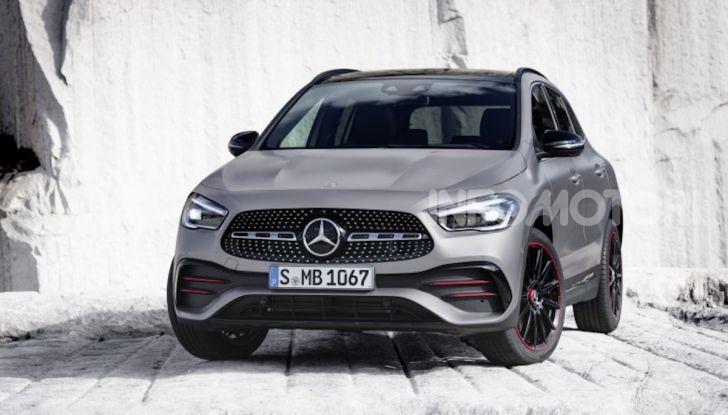 Nuova Mercedes GLA 2020: più spazio e sicurezza - Foto 11 di 19