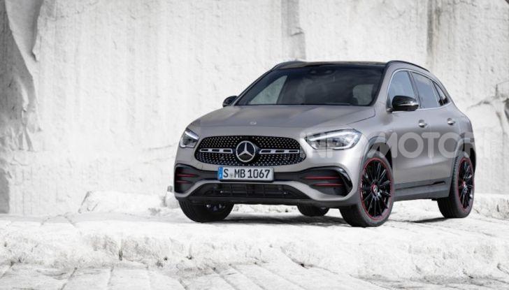 Nuova Mercedes GLA 2020: più spazio e sicurezza - Foto 9 di 19