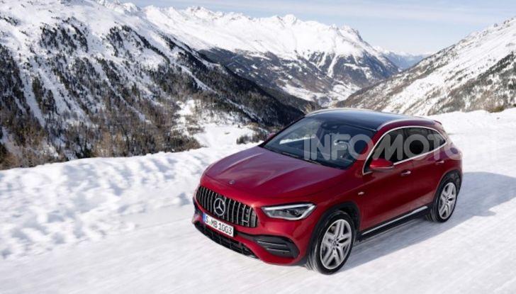 Nuovo Mercedes-AMG GLA 35 4MATIC: prestazioni senza rinunciare al comfort - Foto 9 di 11