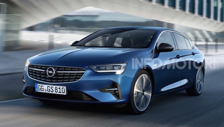 Opel Insignia: più tecnologica dopo il restyling - Foto 1 di 7