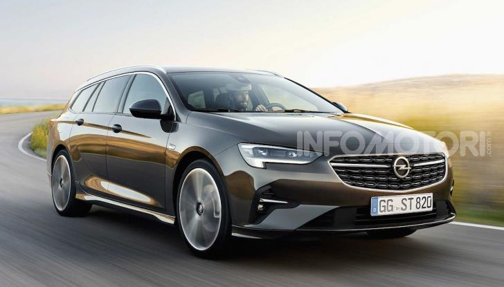 Opel Insignia: più tecnologica dopo il restyling - Foto 2 di 7