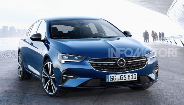 Opel Insignia: più tecnologica dopo il restyling - Foto 6 di 7