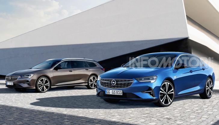 Opel Insignia: più tecnologica dopo il restyling - Foto 7 di 7
