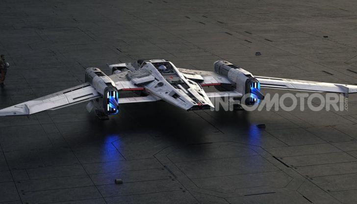 Star Wars: L'ascesa di Skywalker, la Starship firmata Porsche - Foto 3 di 6