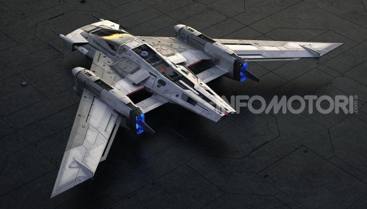 Star Wars: L'ascesa di Skywalker, la Starship firmata Porsche - Foto 2 di 6