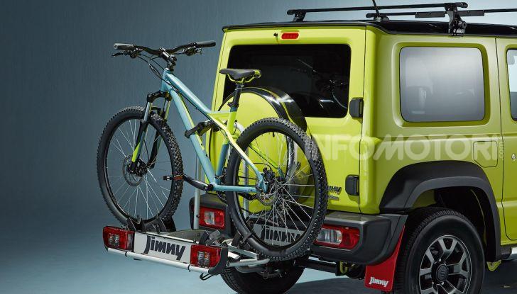 Suzuki Jimny, la nuova collezione di accessori - Foto 1 di 10