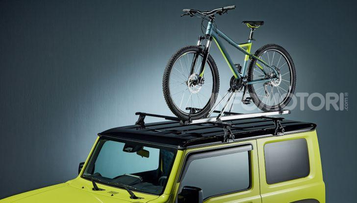 Suzuki Jimny, la nuova collezione di accessori - Foto 3 di 10
