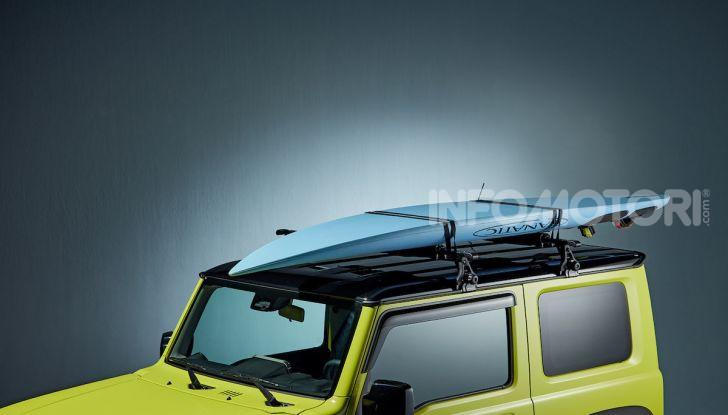 Suzuki Jimny, la nuova collezione di accessori - Foto 4 di 10