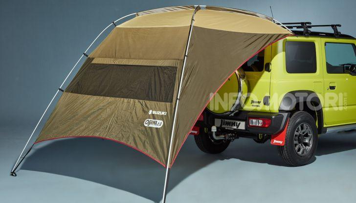 Suzuki Jimny, la nuova collezione di accessori - Foto 5 di 10