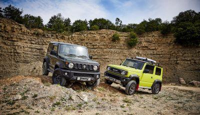 Suzuki Jimny, la nuova collezione di accessori