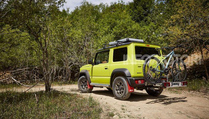 Suzuki Jimny, la nuova collezione di accessori - Foto 9 di 10