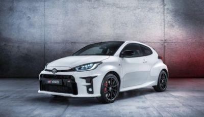 Toyota Yaris GR-4 2020: versione speciale dal Mondiale WRC