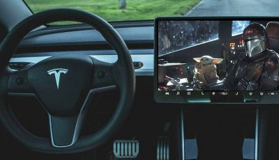 Sui display Tesla debutta il canale Disney Plus
